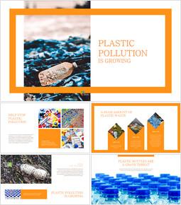 플라스틱 오염이 증가하고 있습니다 회사 프로필 템플릿 디자인_00