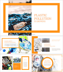 Plastic Pollution is Growing slide template_00