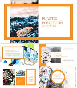 플라스틱 오염이 증가하고 있습니다 슬라이드 템플릿_00