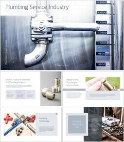 Plumbing Service Industry slideshare ppt_40 slides