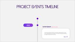 Poroject Events Timeline pitch deck design_00