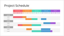Project schedule Page Slide_1 slides