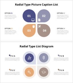 Radial Petals Infographic Diagram_16 slides