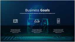 Security Business goal PPT Background_00