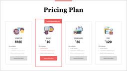 ショッピング料金プラン パワーポイントデザイン_1 slides