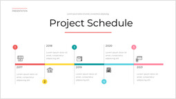 Shopping Project schedule Template Design_1 slides