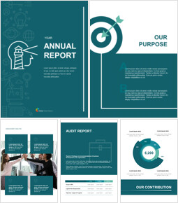 Simple Annual Report Google Slides Presentation_00