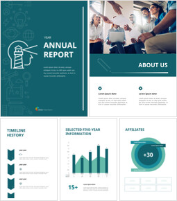 Simple Annual Report Theme PT Templates_00
