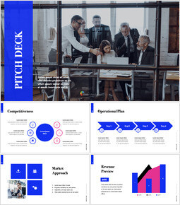 Simple Color Pitch Deck Template PowerPoint to Keynote_00