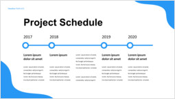 Simple Project schedule Simple Deck_1 slides