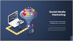 Social media marketing Diapositiva singola_2 slides
