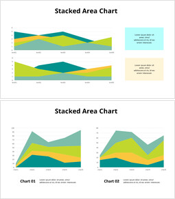 Stacked Area Chart PPT_00