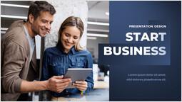 Start Business Pitch Deck Cover PPT Slide_00