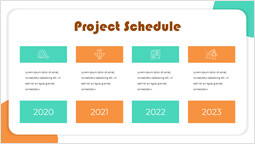 Startup Box Project Schedule PPT Slide_00