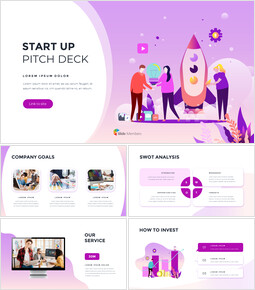 Startup Pitch Deck  Animation Presentation Examples powerpoint animation_00
