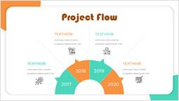 Startup Semicircle Project Flow PPT Deck Design_00