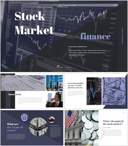 Stock Market Simple PowerPoint Design_00