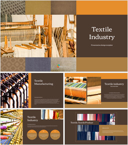 Textile Industry PowerPoint Presentation Design_00
