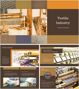 Textile Industry template google slides_00