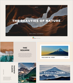 The Beauties of Nature Templates PPT_00