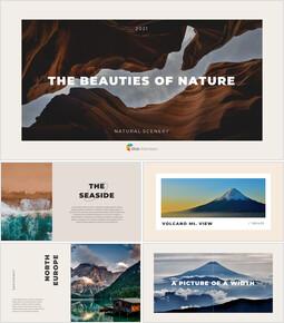 자연의 아름다움 템플릿 PPT_00