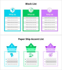 Three Table Block List Diagram_8 slides