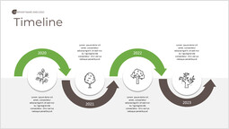 Tree Circle Timeline Template Layout_00