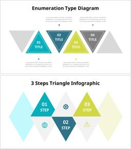 삼각형 단계 인포 그래픽 다이어그램_00