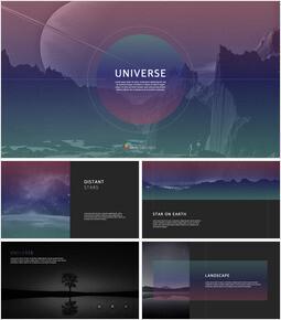 UNIVERSE keynote template_40 slides