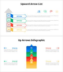 Upward Arrow Infographic List Diagram_00