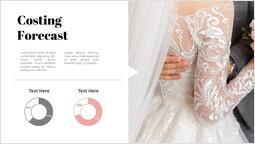 結婚式の原価計算予測 スライドのレイアウト_1 slides