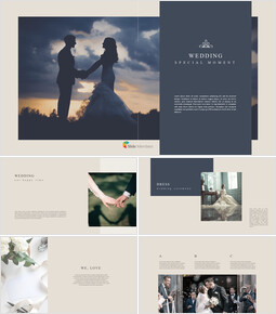 Wedding Special Moment Business PowerPoint Templates_00