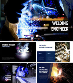 Welding Engineer Keynote to PPT_40 slides