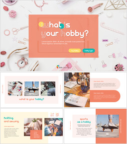 What Is Your Hobby? powerpoint template_40 slides