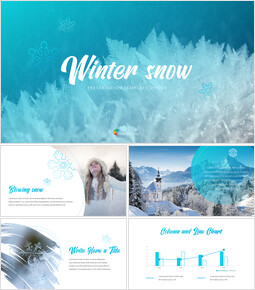Winter Snow PowerPoint Presentation Slides_00