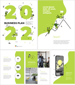 2021 Business Plan Template Design Startup PPT Templates_00