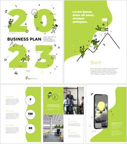 2021 사업 계획 템플릿 디자인 스타트업 PPT 템플릿_00