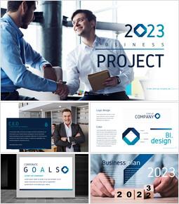 2021 Business project Business plan PPT Download_50 slides