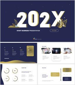 Presentazione del passo di inizio attività 2021 Download del modello di keynote_00