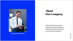 회사 소개 파워포인트 디자인_2 slides