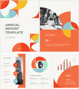 Abstract Annual Report Template Google Slides to PowerPoint_00