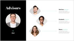 Advisors Single Slide Parezzo di presentazione_1 slides
