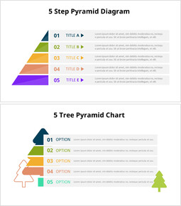 Animated Templates - Half Pyramid Chart Diagram Animated Slides_00