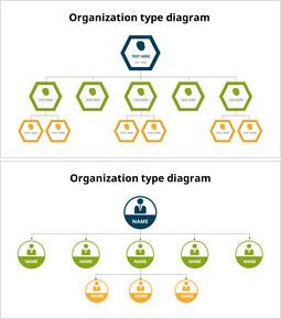 Modelli animati - Grafico gerarchico delle icone_22 slides