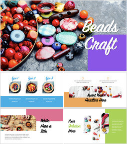 Beads Craft Keynote for PC_40 slides