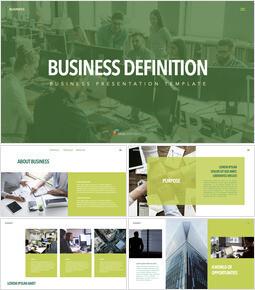 Definición de negocio diseño de plantilla de perfil de empresa_00