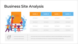 Business Site Analysis with Infographic Page Design_00