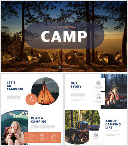 Camping slide template_00