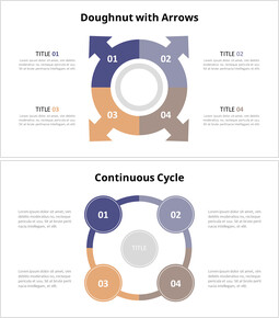 Circle Cycle Puzzle Diagram Animation Templates_00