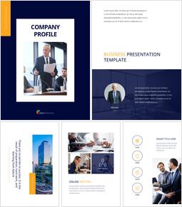 Firmenprofil Business PowerPoint-Vorlagen_00